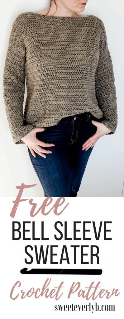 Beginner's Guide To Crocheting A Sweater + Crochet Sweater Pattern