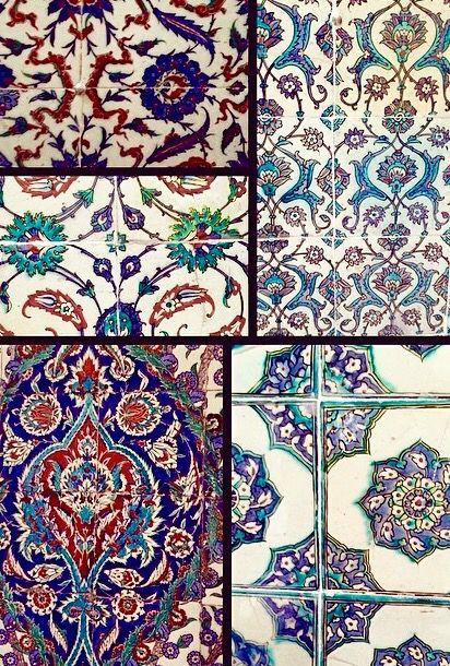 Topkapi Palace beautiful pottery