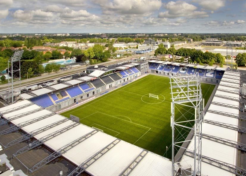 Soccer Stadium Of Pec Zwolle Football Stadiums Soccer Stadium Stadium