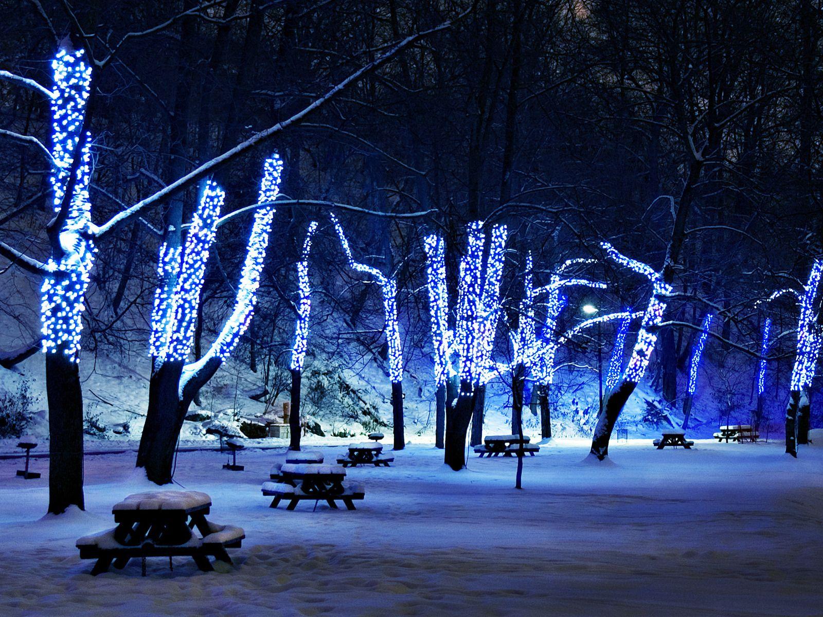 Cool Christmas Lights Wallpaper HD
