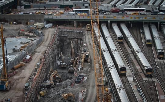 Christie does not give a damn about his constituents. Amtrak faces a dilemma regarding what to do with the North River Tunnels, which house two century-old two-way tracks under the Hudson River in New York and need repairs.