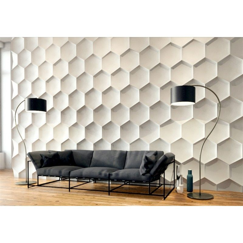 Hexagon Gypsum Plaster Wall Panels Criddle Flanary