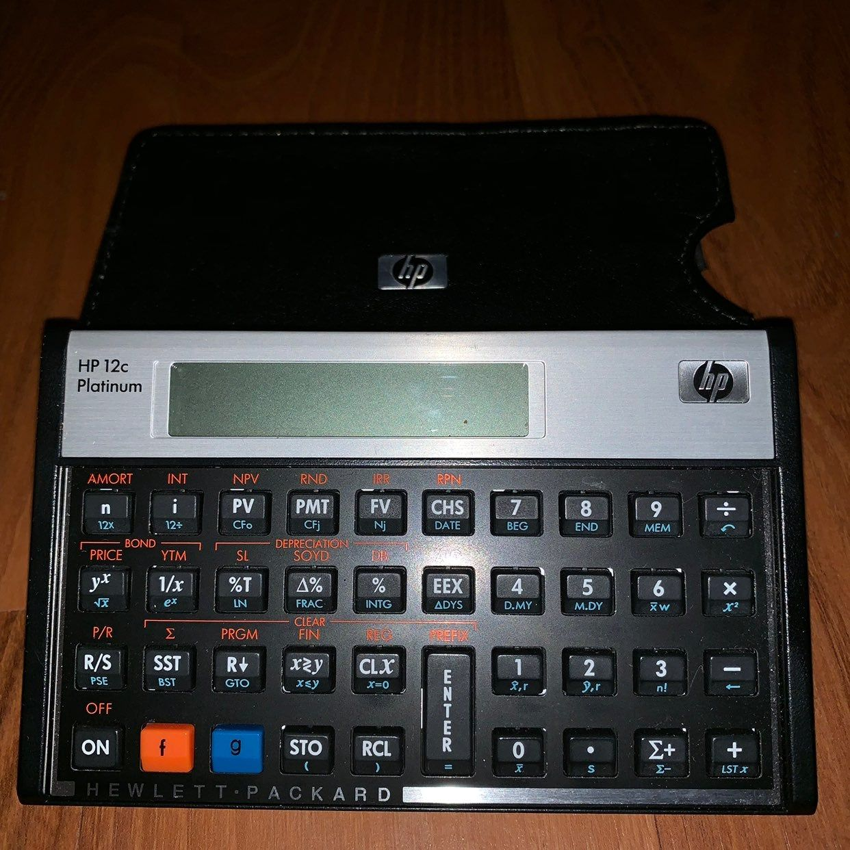 HP 12c Platinum Financial Calculator Used for one semester