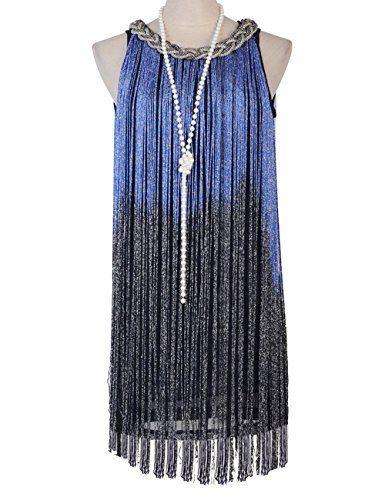 KAYAMIYA Women's 1920s Ombre Fringe Gatsby Flapper Costume Latin Dress XS/S Blue KAYAMIYA http://www.amazon.com/dp/B00RCVLJ96/ref=cm_sw_r_pi_dp_g2mZwb0XQ11KJ