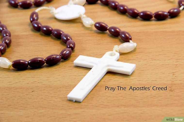 How to Pray the Lutheran Rosary 12 Steps (with Pictures