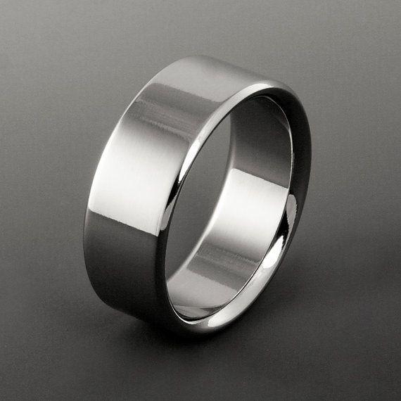 Handcrafted Titanium Band Classic Titanuum Titanium Rings For Men Mens Wedding Rings Titanium Titanium Rings Women