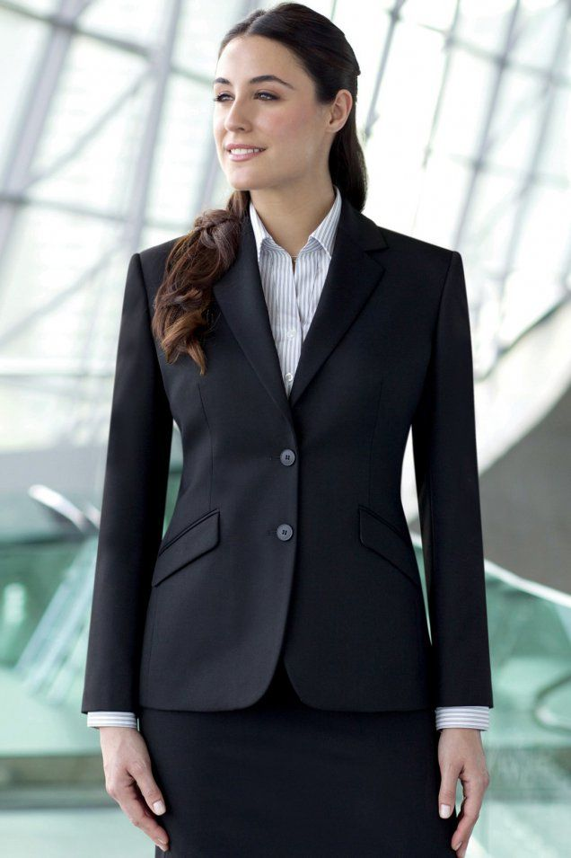 Ladies Jackets   Womens Suit Jacket - Classic fit Hebe Jacket from ...