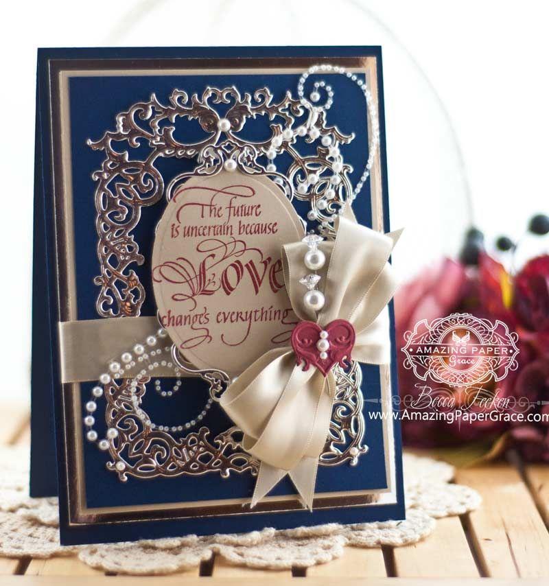 all about love  becca feeken cards beautiful handmade