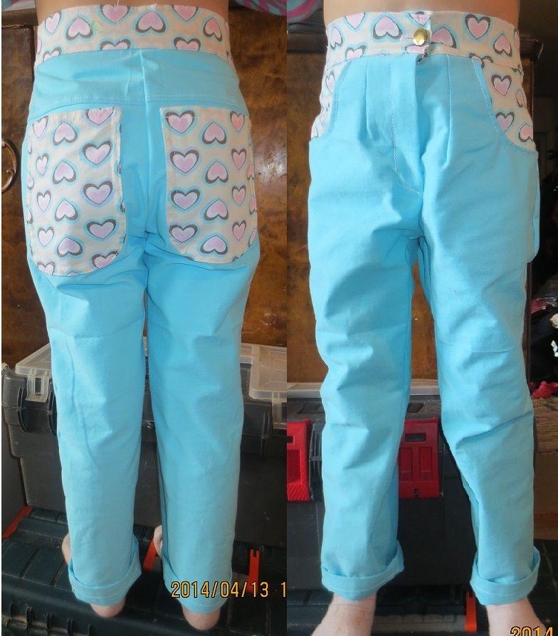 Tytölle housut (till barn)