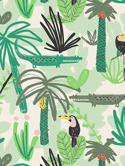 print & pattern #tropicalpattern