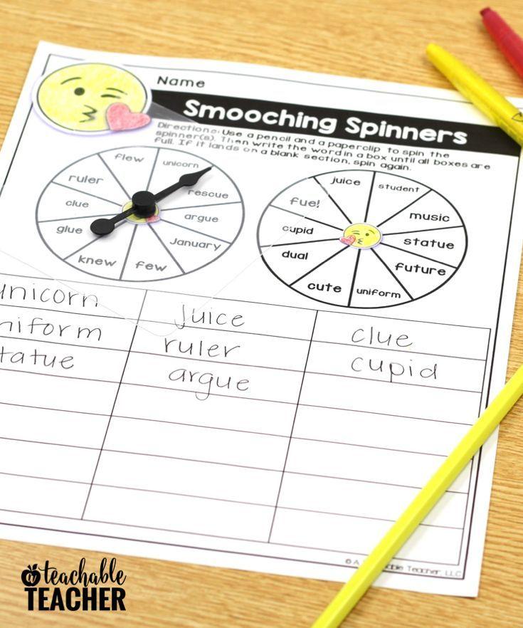 Editable Spelling Activities Emoji Activities For Any List Of