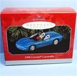 1998 Corvette Convertible Hallmark Retired Ornament
