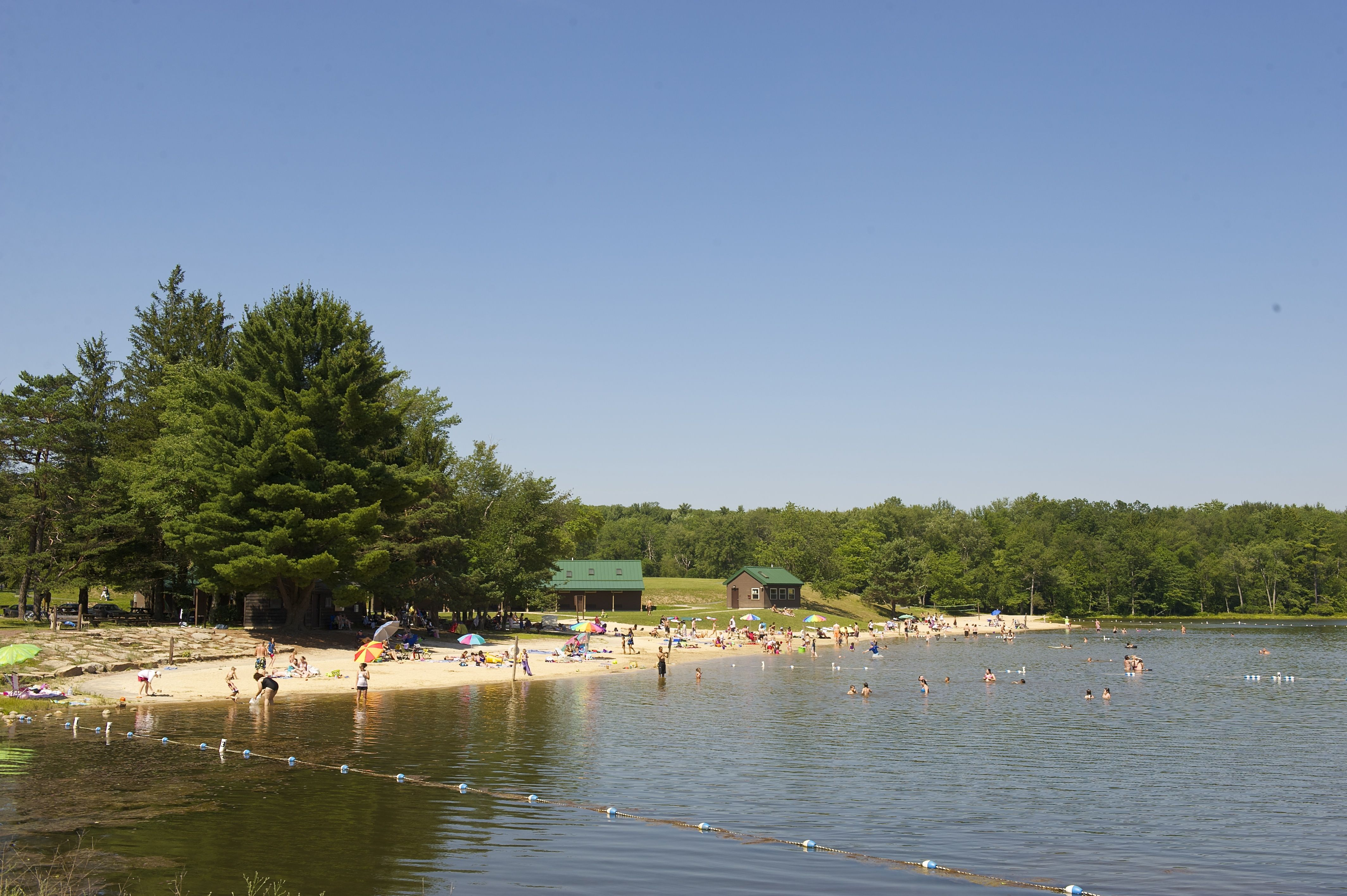 Cool Off And Go For A Swim At Hickory Run 39 S Sand Spring Lake In The Poconomtns Cool Off In