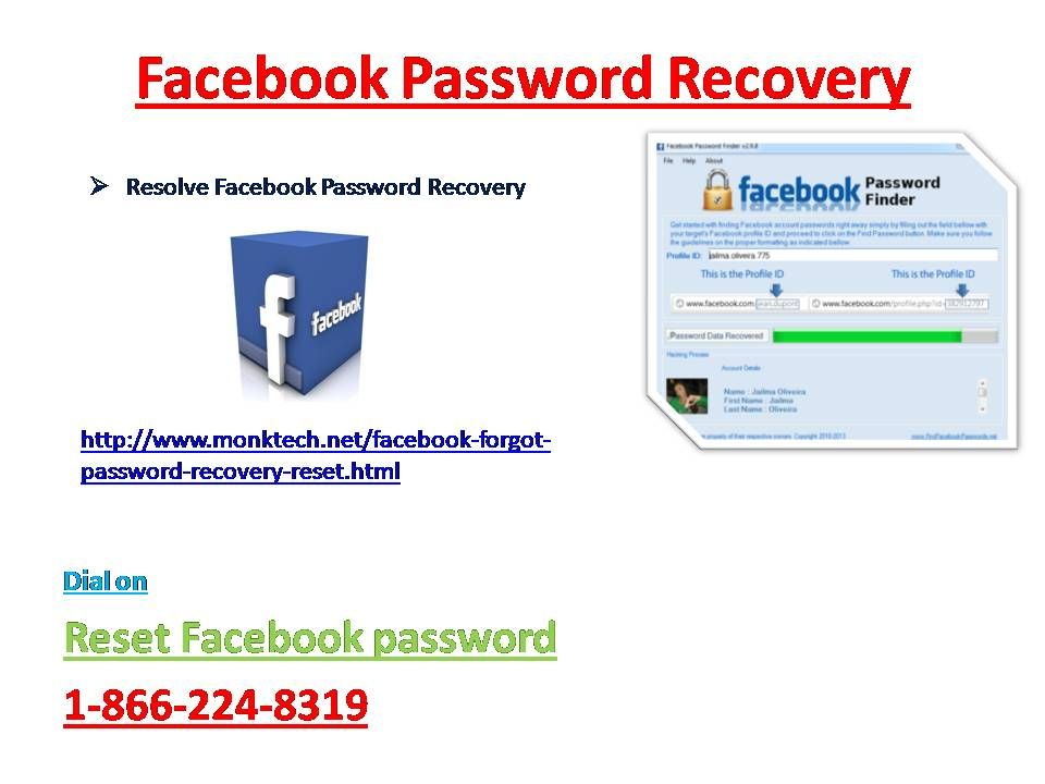 Reset facebook password 18662248319 recover facebook