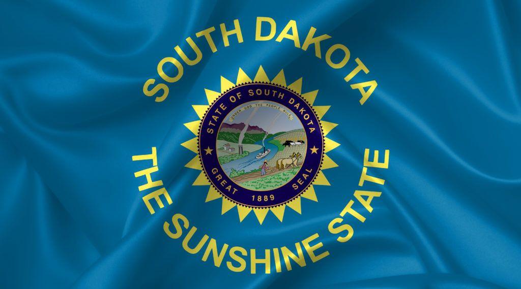 South Dakota Flag South Dakota Flag South