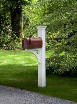 Annapolis Rural Aluminum Boite Aux Lettres Decoration Decoration Exterieur Boites Jardinage White mailboxes with posts