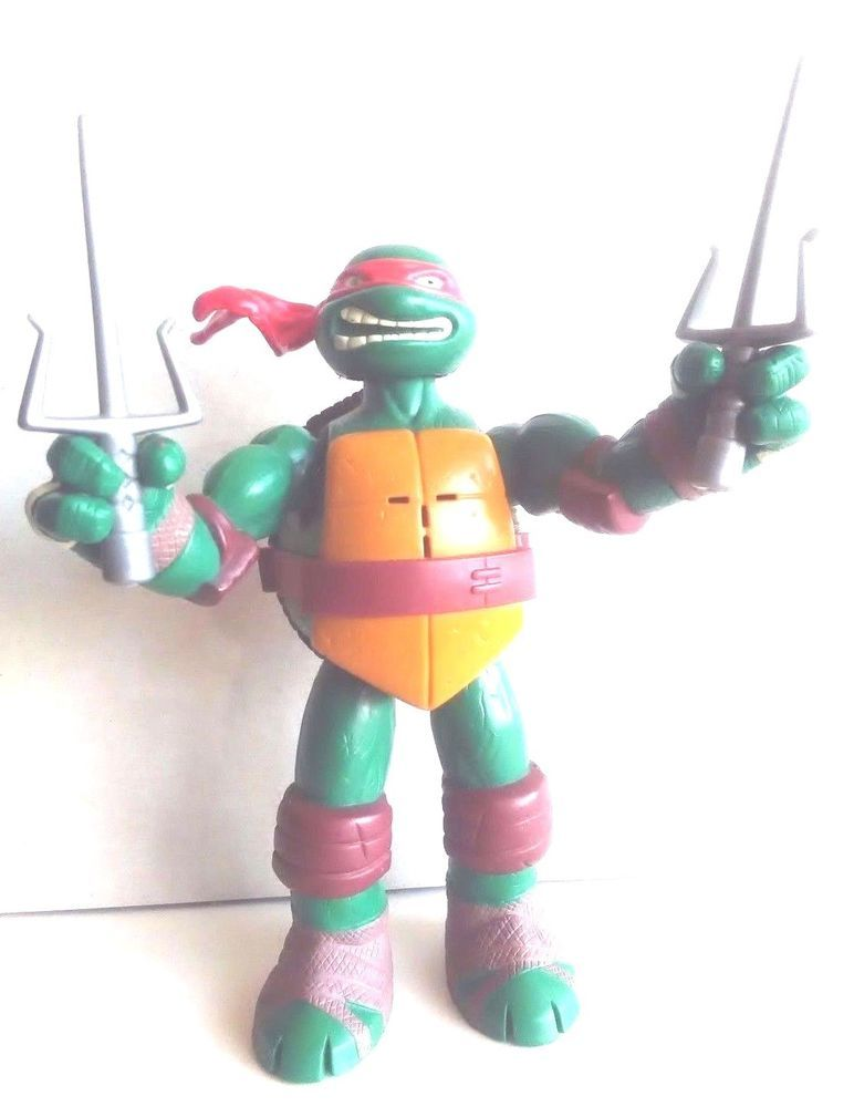 Teenage Mutant Ninja Turtles Raphael Talking Tmnt 6 Action Figure
