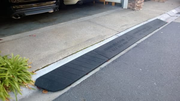 We Review The Best Curb Ramps For Driveways Rolled Curbs And Raised Garage Floors Curb Ramp Driveway Ramp Car Ramps