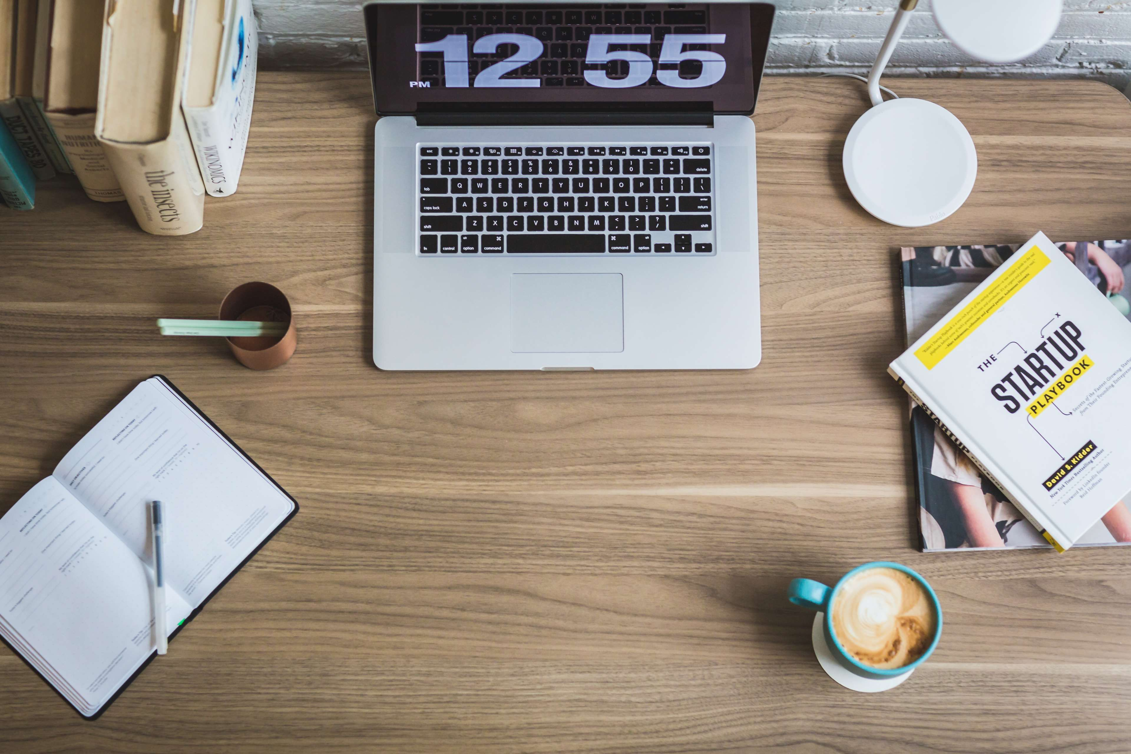 Work Desk Writer Author Creative Writing Concept Equipment