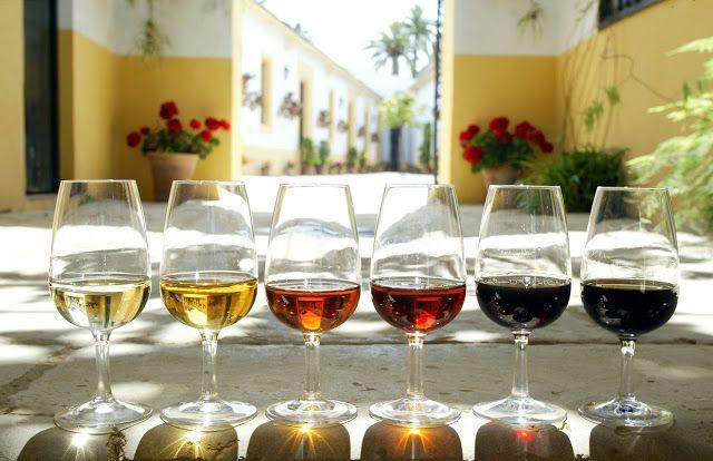 Tipos de vino de Jerez #Sherry #Jerez #Spain