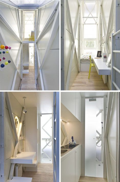 Keret House In Poland World S Narrowest House By Jakub Szczesny Home Houses In Poland Architecture House