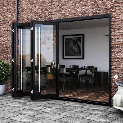 Barrierfold Inward Opening Kit - 2 + 2 Door - Satin Stainless Steel | Ironmongery Direct & Barrierfold Inward Opening Kit - 2 + 2 Door - Satin Stainless Steel ...