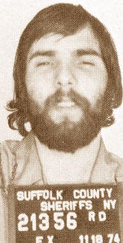 Ronald DeFeo, Amityville, NY---Mugshot 1974 | Creepy | The
