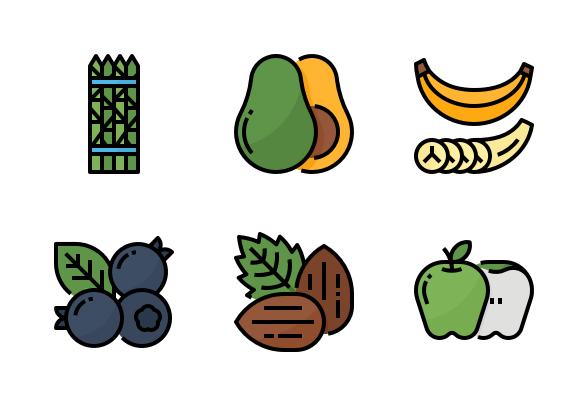 Healthy Food Icons Food Icons Food Icon Png Icon