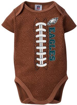 designer fashion c9d85 dc50a NFL Baby Philadelphia Eagles Football Bodysuit | Kids ...