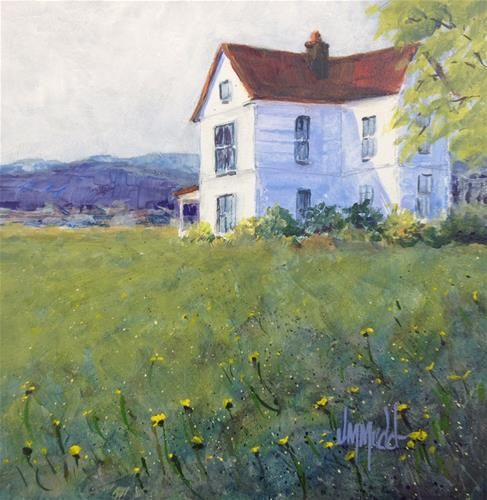 The Homestead - Original Fine Art for Sale - © by Judy Mudd