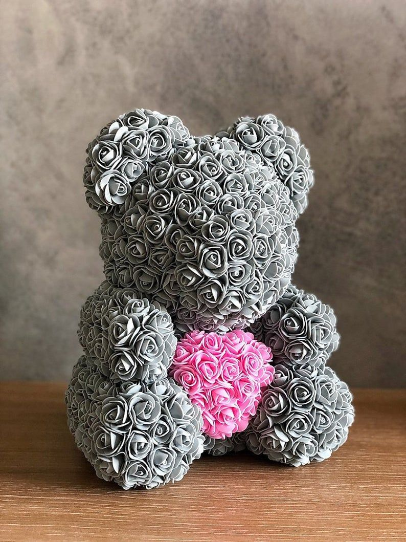 Rose Bear Luxury Rose Teddy Bear Forever Rose Teddy Rose Bear Flower Bear In 2020 Forever Rose Best Friend Gifts Gifts For Friends