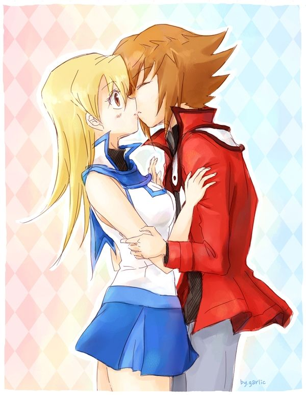 Jaden And Alexis Yugioh Anime Romantic Anime