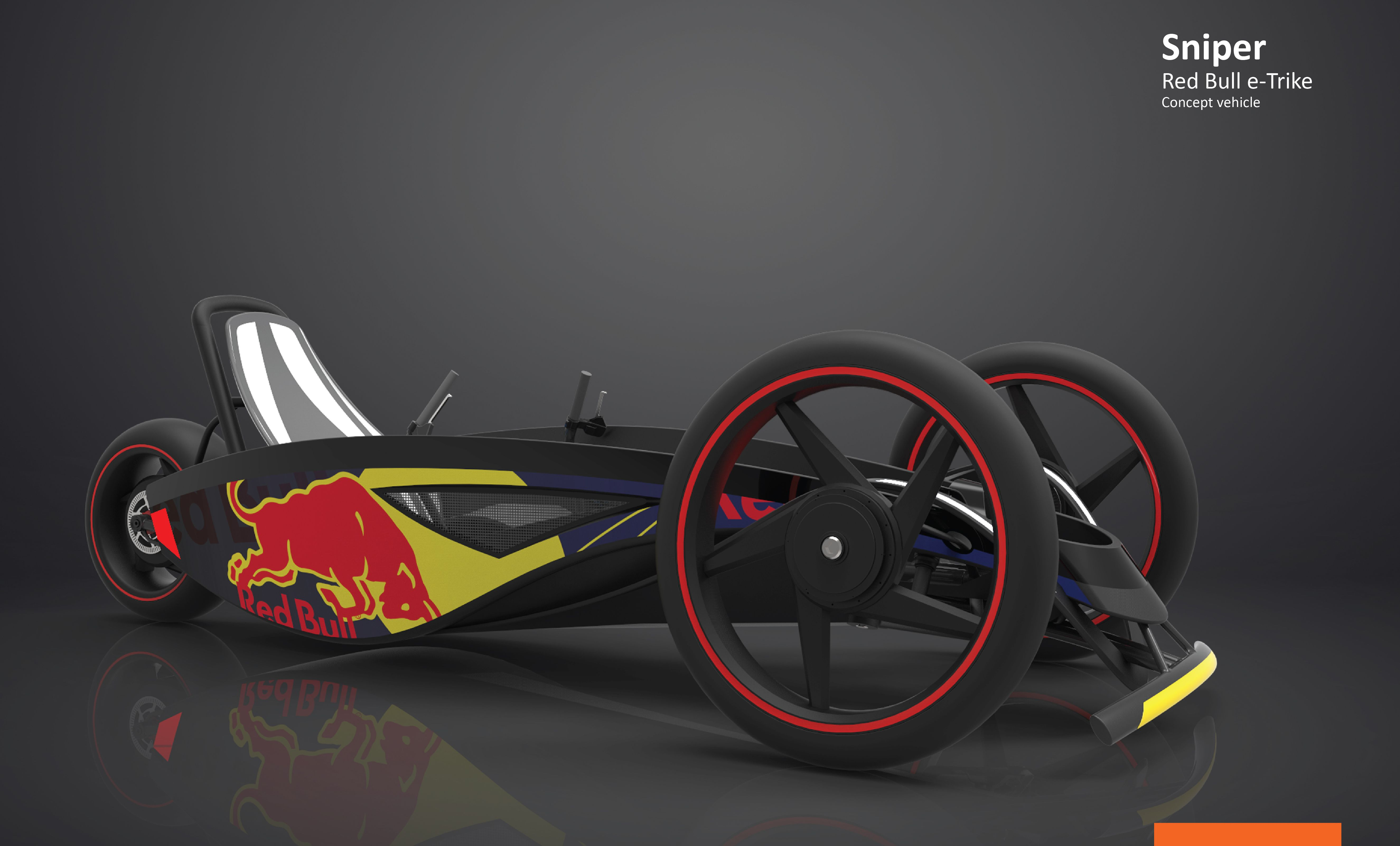 sniper concept is an electric trike born from the bones of. Black Bedroom Furniture Sets. Home Design Ideas