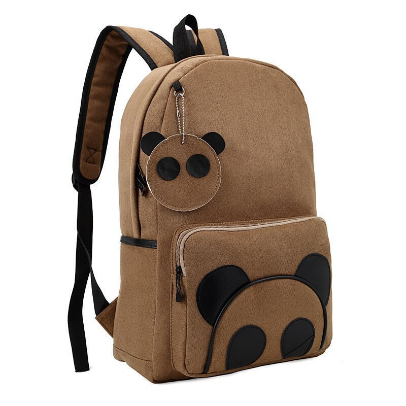 Fashion school backpacks cartoon panda backpack New women backpack ...