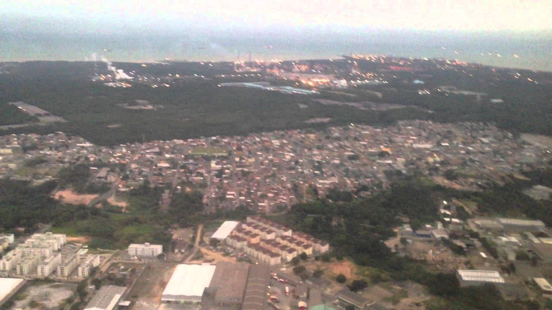Aeroporto Vix : Aterrissagem pouso gol boeing aeroporto de vitória es vix