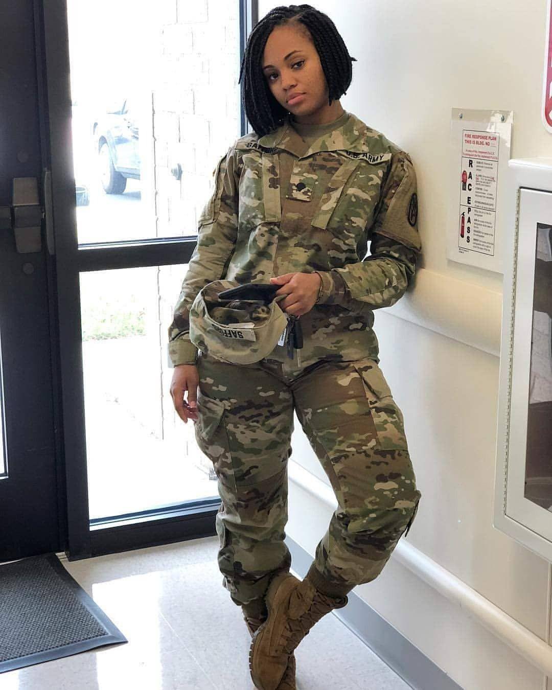 Sexy military girl tumblr