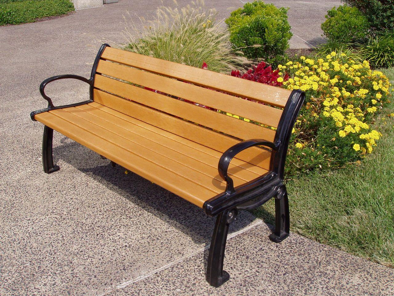 heritage park bench