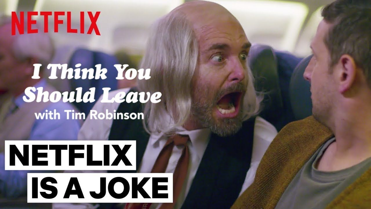 The Man Ft Will Forte I Think You Should Leave With Tim Robinson Netflix Robinson Netflix Kids