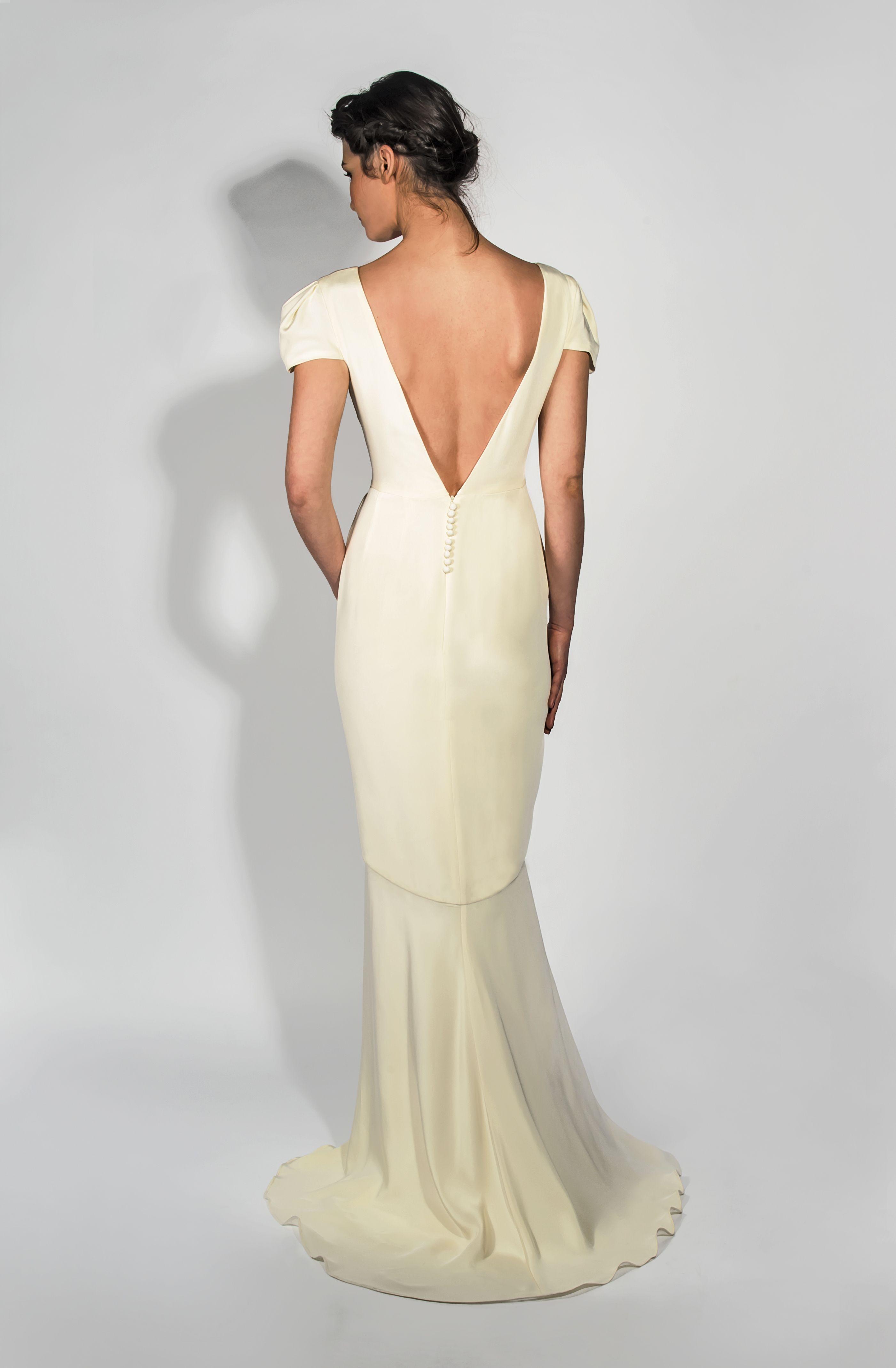 Ss belle bunty vintage inspired modern wedding dresses the maple