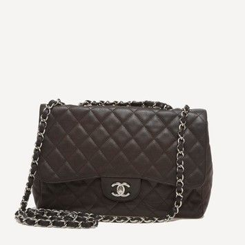 0b2ad79b06 Chanel Classic Flap Caviar Jumbo Shoulder Bag. Get one of the hottest  styles of the