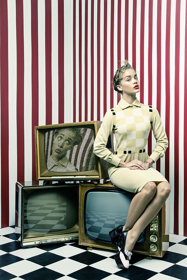 Jasmine Sanders by Andreas Waldschuetz