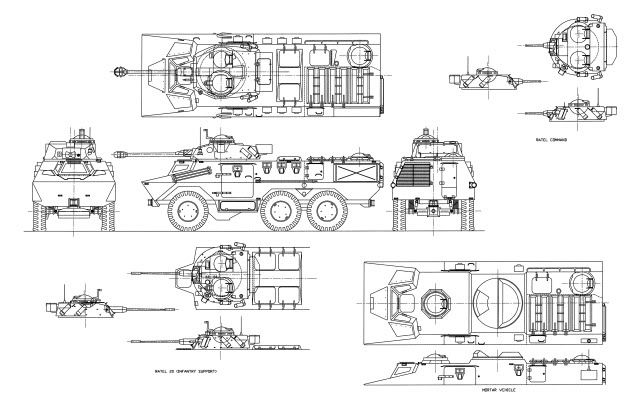 Ratel 20 Ifv South African Defence Force Plans  24