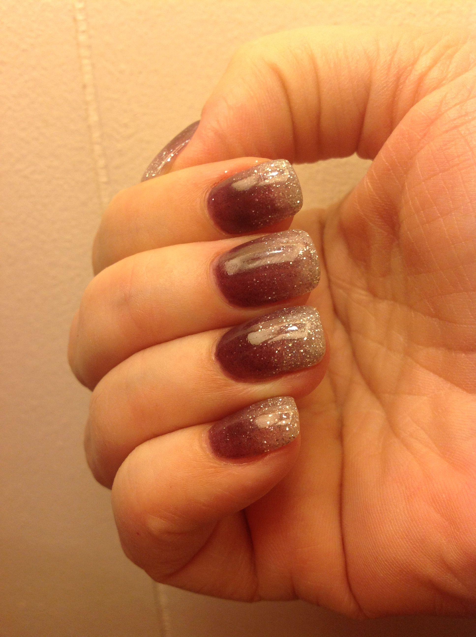 Sns Kb 2 104 Sparkle Ombre Sns Nails Colors Ombre Nails Glitter Sns Nails Designs