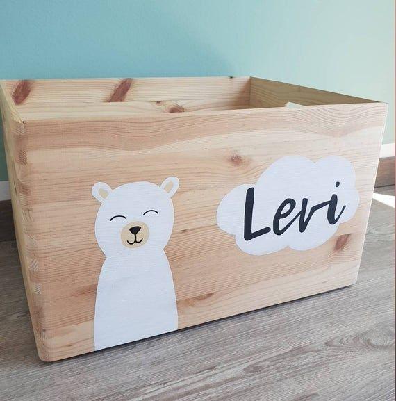 Photo of Toy box polar bear customizable