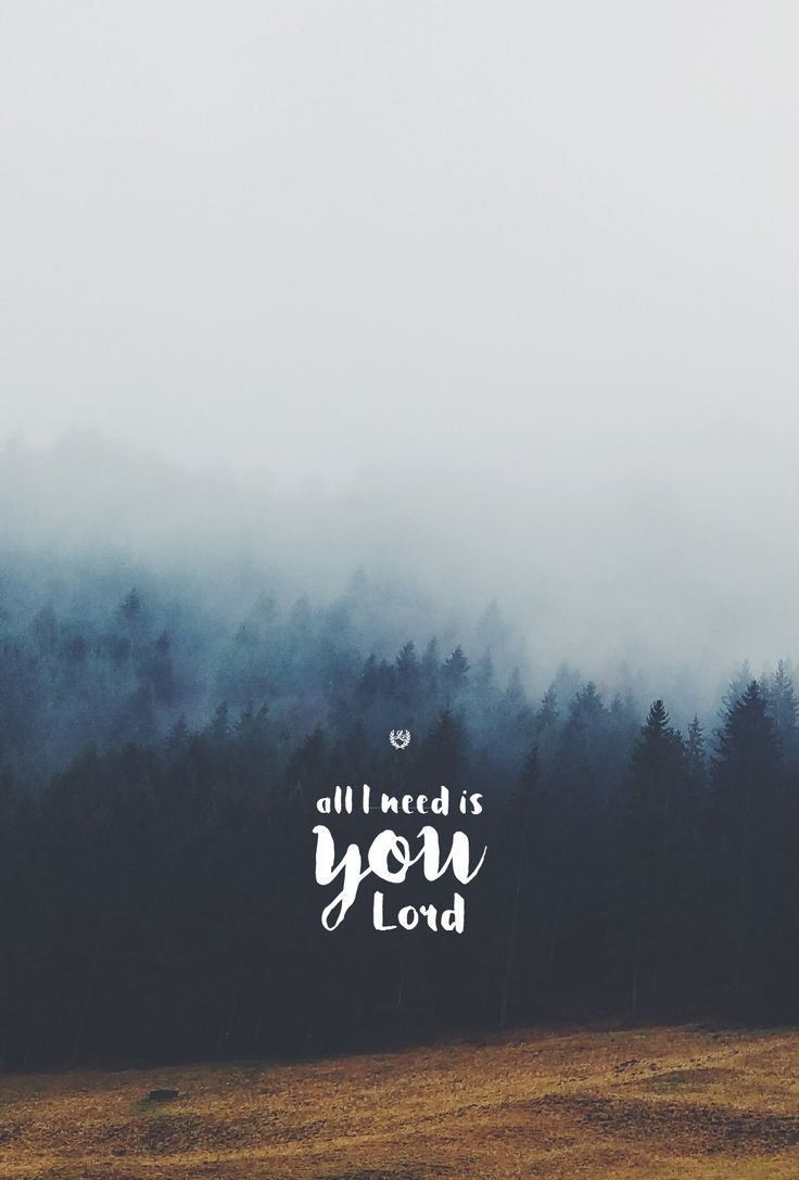 All I Need Is You Lord