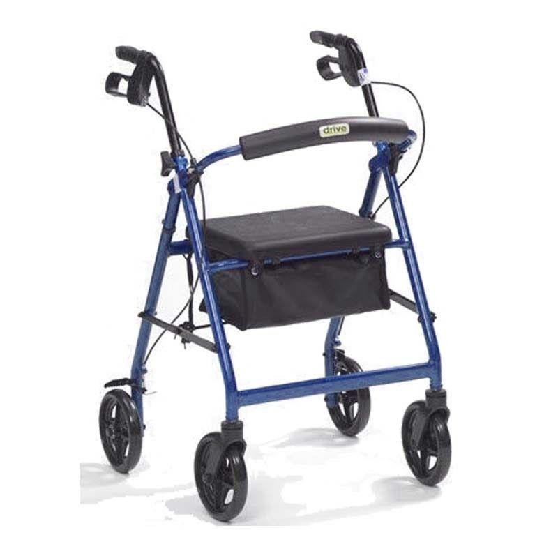 Andador Ancianos LIGERO 15 con Cesta y Frenos