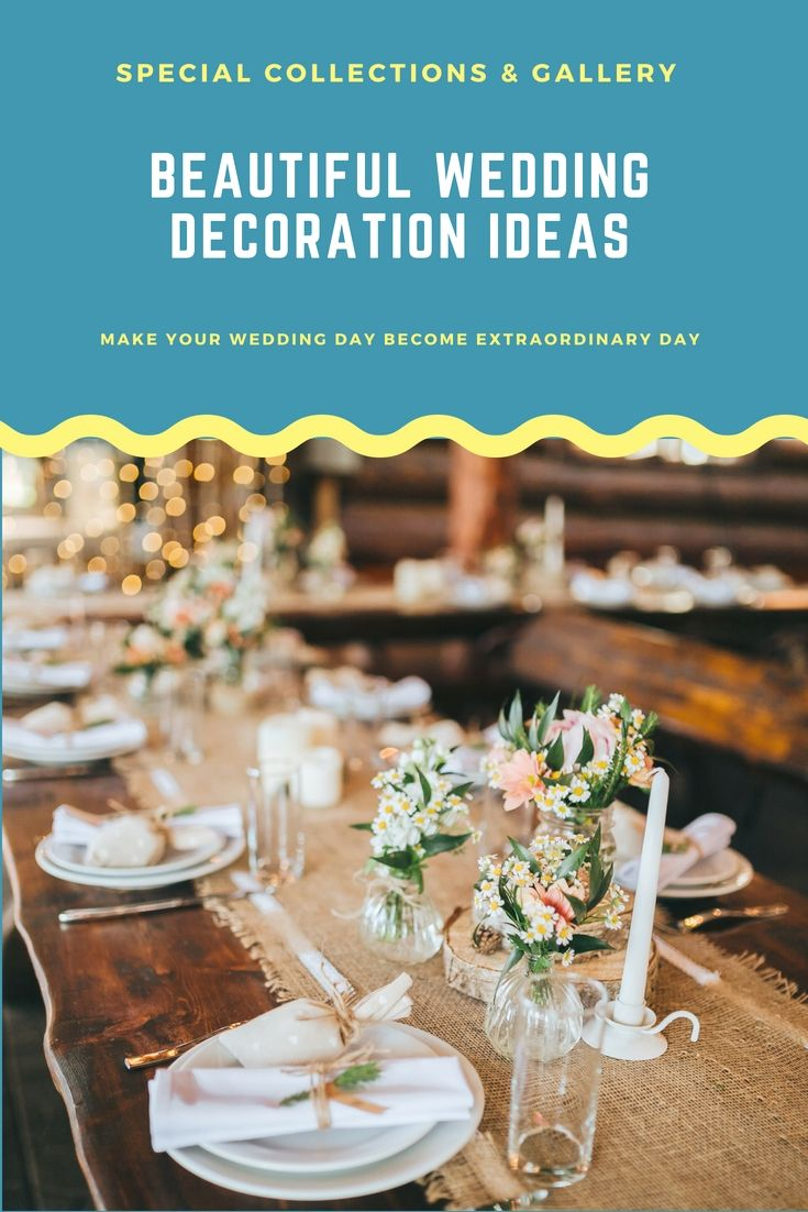 Wedding reception wedding decor ideas  Revamp Your Own Wedding Reception With The Help Of These Latest