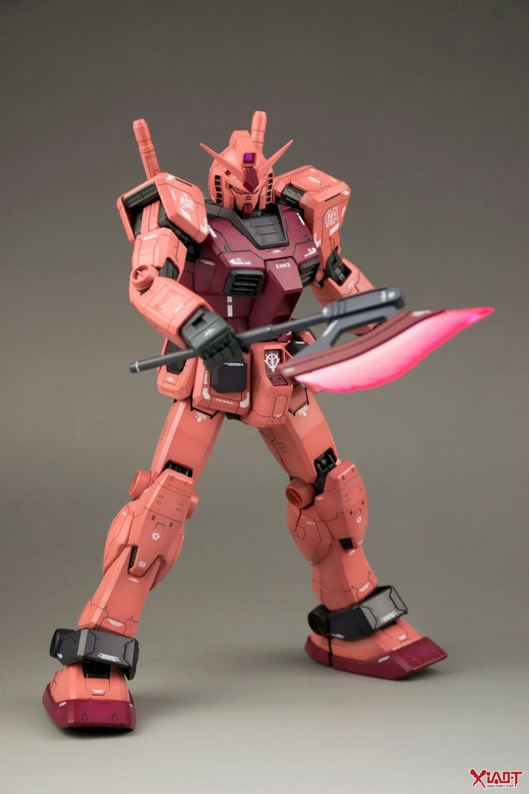 RX-78 CA GUNDAM GUY: MG 1/100 RX-78/C.A. Char Aznable's Customized Gundam