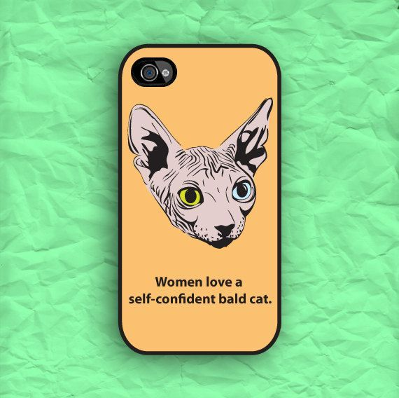 Hipster Sphynx Cat Larry David Quote iPhone 5 Case by CaseOddity, $15.99 #Christmas #thanksgiving #Holiday #quote