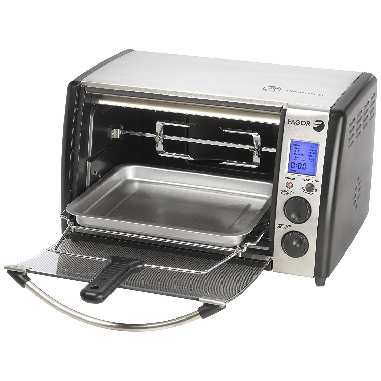 Fagor 670041770 Dual Technology Digital Toaster Oven
